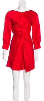 Isabel Marant Cutout-Accented Mini Dress