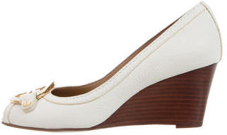 Tory Burch Tory Burch Amanda Logo Wedges