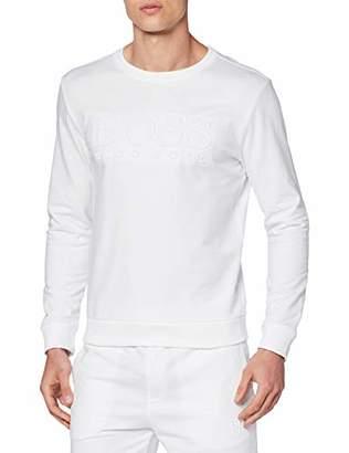 c531f7be7 BOSS Men's Heritage Sweatshirt White 100, Large