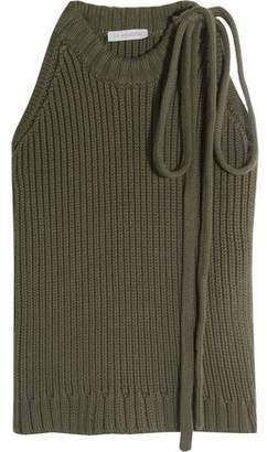 J.W.Anderson Ribbed Cotton Top