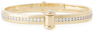 Stephen Webster 18K Yellow Gold I Promise to Love You Bangle with Diamonds