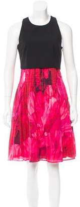 Thakoon Pleated Knee-Length Dress
