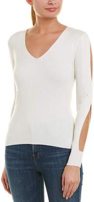 Bailey 44 Bailey44 Ski Slit Wool-Blend Sweater