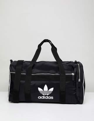 0cd7d302390 at ASOS · adidas Adicolor Duffle Bag In Black Cw0618