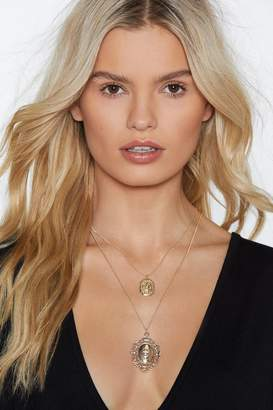 Nasty Gal Let It Drop Layered Necklace