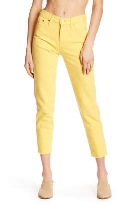 Levi's Wedgie Icon Fray Hem Jeans