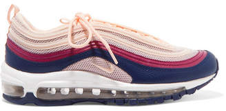 Nike Air Max 97 Leather And Mesh Sneakers - Pink