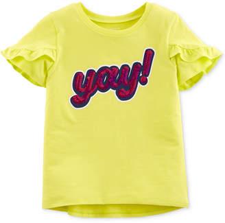 Carter's Carter Little & Big Girls Graphic-Print T-Shirt