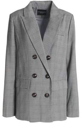 Walter W118 By Baker Double-Breasted Twill Blazer