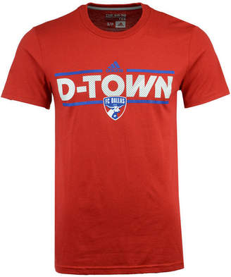 adidas Men's Fc Dallas City Name Performance T-Shirt