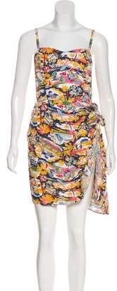 DKNY Printed Mini Dress w/ Tags