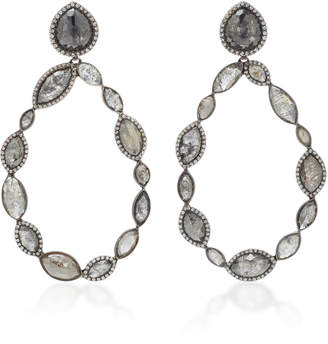 Black Diamond Kimberly McDonald 18K Gold And Drop Earrings