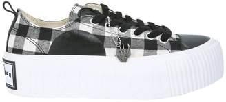 McQ Plimsoll Platform Low Top Sneakers