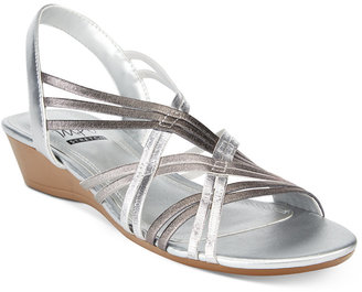 Impo Rampage Stretch Wedge Sandals $50 thestylecure.com