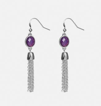 Avenue Stone Tassel Drop Earring