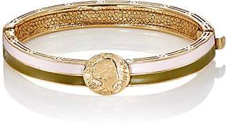 Mayle Maison Women's Dos Passos Hinged Bangle - Petal