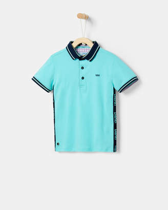 Ted Baker WESTAN Logo panel polo shirt