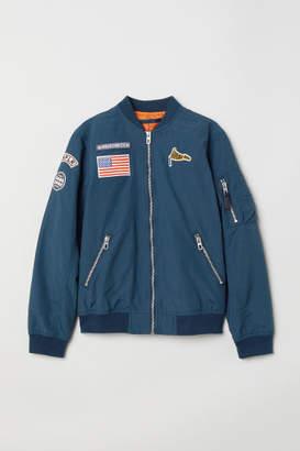 H&M Bomber Jacket - Blue