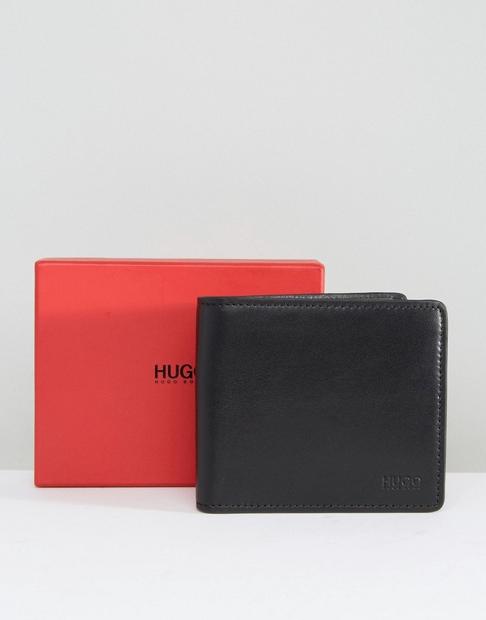 Hugo BossHUGO by Hugo Boss Leather Subway Wallet With Coin Pocket