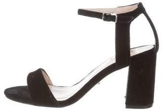 Carvela Velvet Ankle-Strap Sandals