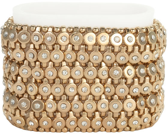 Cara Accessories Metal Stretch Bracelet