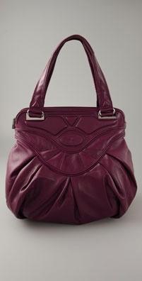 Zac Posen Handbags Pleated Iris Bag