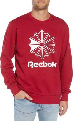 Reebok Classic Big Starcrest Logo Sweatshirt