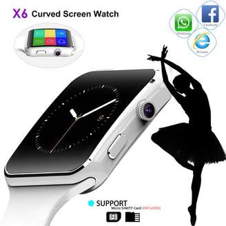 Dragon Optical Touch Bluetooth Smart Watch Phone X6 Smartwatch Wristwatch For ios Android With Camera