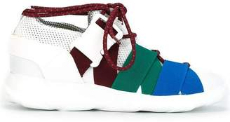 Christopher Kane panelled sneakers