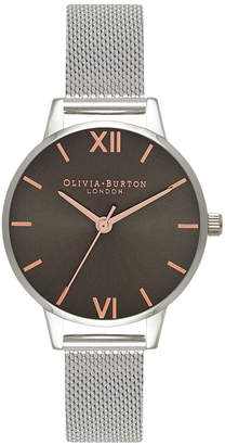 Olivia Burton OB16MD80 Midi Dial Silver Watch