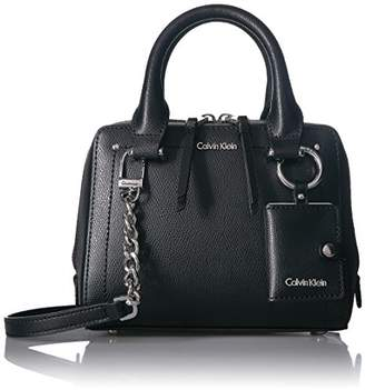 Calvin Klein Boxy Mercury Leather Crossbody