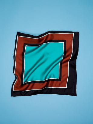Arago Small Silk Twill 36X36 $178 thestylecure.com