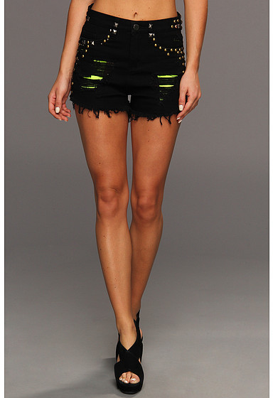 Blank NYC The Solid Gold High Rise Short in Bike Kill