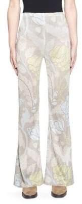 Acne Studios Printed Flared Pants