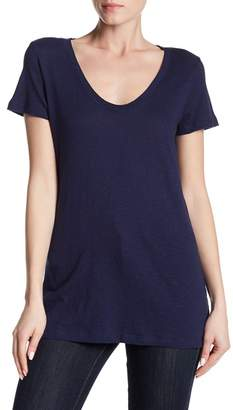 Susina Solid Scoop Neck Tee (Regular & Petite)