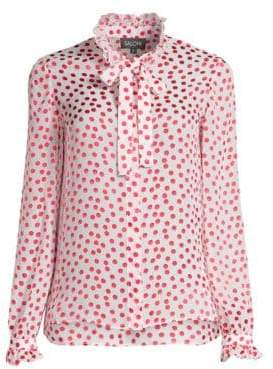 Saloni Emilie Polka Dot Top