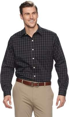 Van Heusen Big & Tall Traveler Stretch Classic-Fit No-Iron Button-Down Shirt