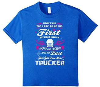 Trucker Wife Shirt - Biker Shirt For Wife/Women