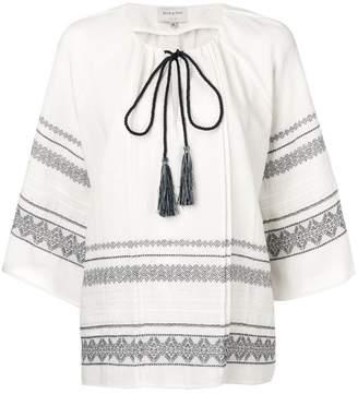Zeus+Dione Aegina embroidered blouse