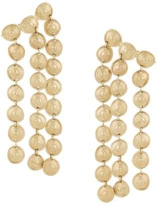 Ellery three-strand dangly earrings