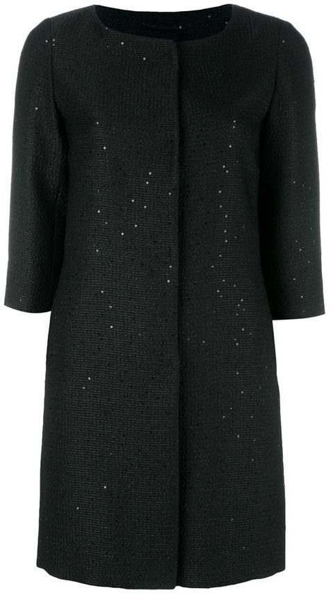 Herno Herno Trench With Sequins