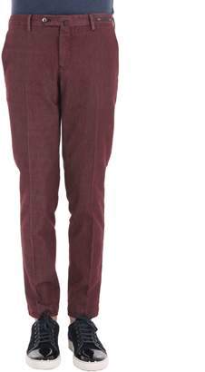 Pt01 Cotton Blend Trousers