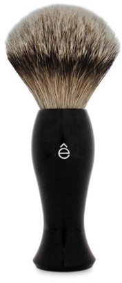 eShave e-Shave Silvertip Badger Hair Long Handle Shaving Brush - Black