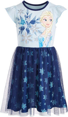 a5832e266 Disney Elsa Snowflake Dress Toddler Girls