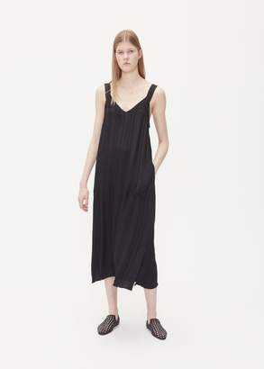 Raquel Allegra Button Strap Tank Dress