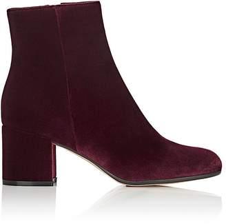 Gianvito Rossi Women's Margaux Velvet Ankle Boots