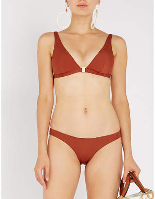Jets Mirage triangle bikini top