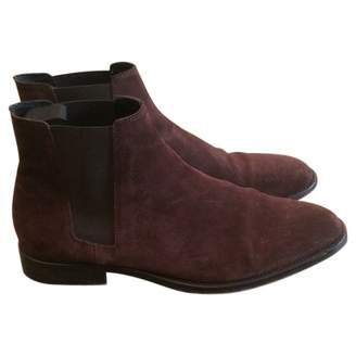 Sandro Brown Leather Boots