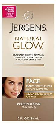 Jergens Natural Glow Healthy Complexion Daily Facial Moisturizer for SPF