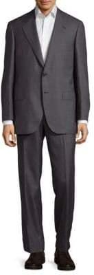 Brioni Textured Notch-Lapel Suit